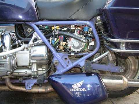 IWEMA enterprise, Motorcycles on LPG